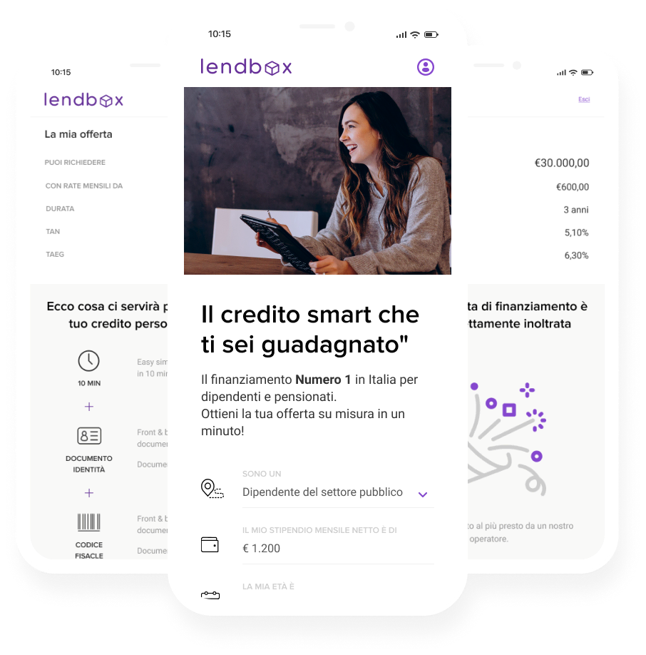 finleap connect Lendbox users webapp